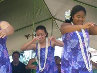 Briana dancing